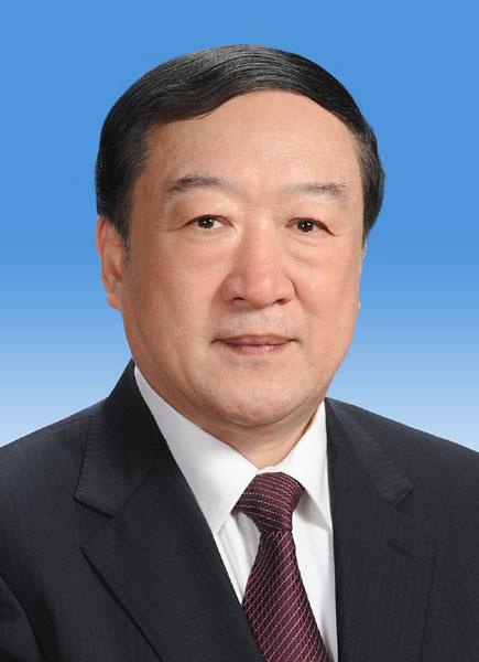 中国人民政治协商会议第十二届全国委员会副主席苏荣新华社发