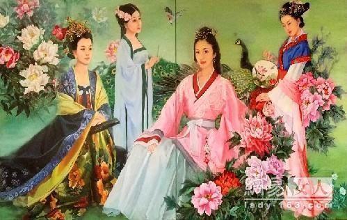 新四大美女图 代表现代女性含蓄古典独立性感之美