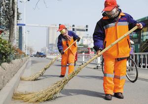 号头庄乡强化保洁员冬季作业培训