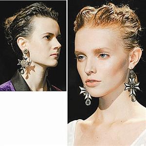 发型带给我们最hit的复古盛宴,上世纪40年代名伶发髻,俄罗斯风情马尾图片