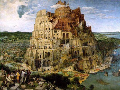 圣经中巴别塔的故事很好地说明了使用多种语言的意义