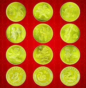 价格纪念币情趣半月写真翻番透明全生肖图片