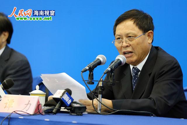 谭力:海南各市县环保局长可放心下河游泳_资讯