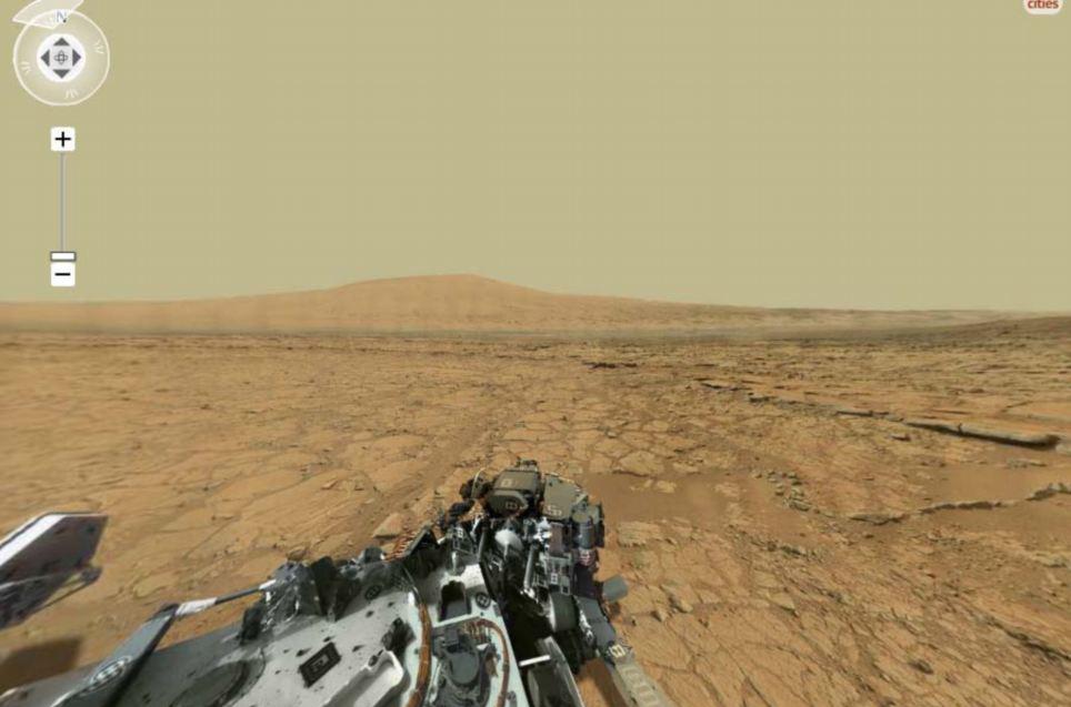 NASA科学家合成火星全景照片 像素高达40亿如同身临其境