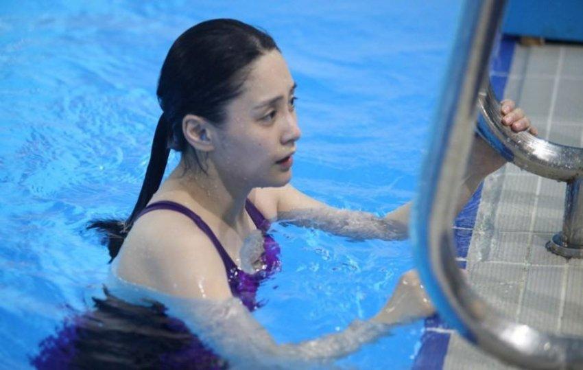 张柏芝阿娇阿SA众女星跳水 力证天然美女高清