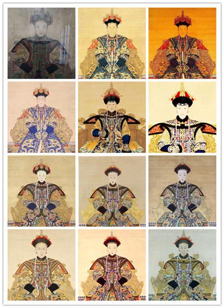 皇太极娶两名寡妇让侧妃改嫁盘点清朝28位皇后图片