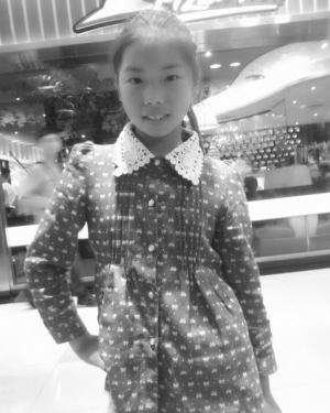 12岁女孩放学回家