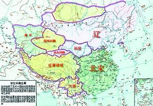 辽朝人口-契丹人建立的辽国. 资料图片-契丹后裔今何在