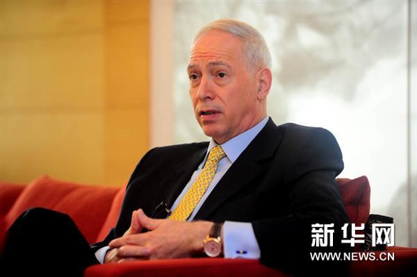 新华网:今天访谈到这里就结束了,再次感谢大使先生接受我们的采访.
