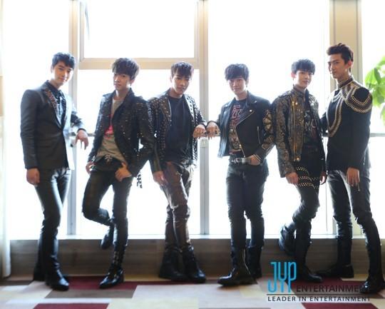 【组图】韩国男团2PM荣登日本排行榜冠军 尼