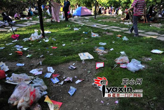 """今年的""""六一""""儿童节恰巧是周末,这让乌鲁木齐市的各大公园都很忙"""