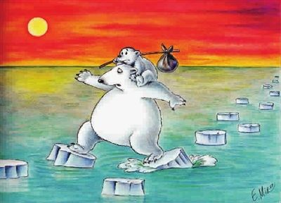 白熊企鹅二次元图片 和平精英企鹅和白熊