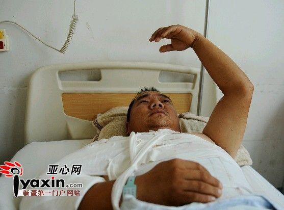 男子干钢结构活时从房顶掉下 拖欠五千医治费面临出院