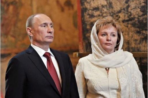 普京与夫人柳德米拉