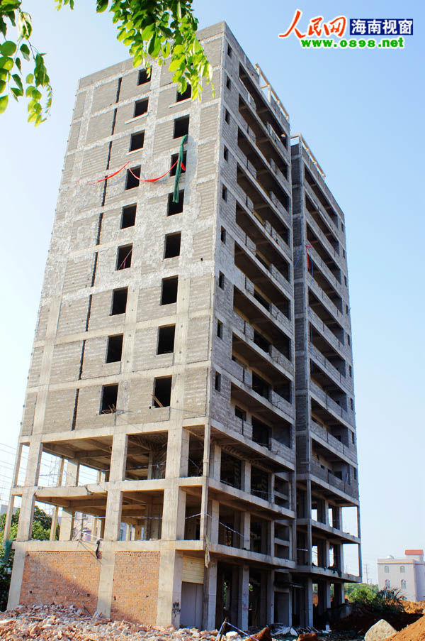 框架结构违法建筑