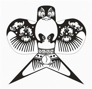 手绘风筝图案设计