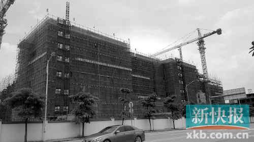 承包了萝岗区图书馆的白蚁防治工程 目前图书馆仍在建设中 高清图片