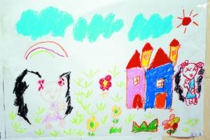 """""""小图画,大梦想""""北京街""""我的中国梦""""儿童绘画比赛"""