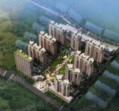 新建综合型社区 金域府邸规划问世 新闻网讯 日前记者从青岛市规划局