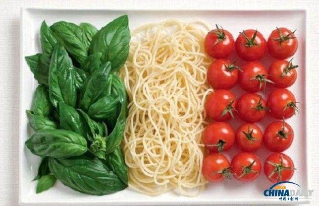 意大利挂中国国旗