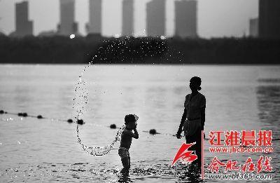合肥引禁忌治污水,做足水文章(图)漫画恋活水图片