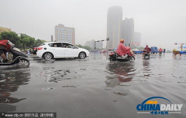 台风天兔图片_广东惠州遭受超强台风天兔重创经济损失严重