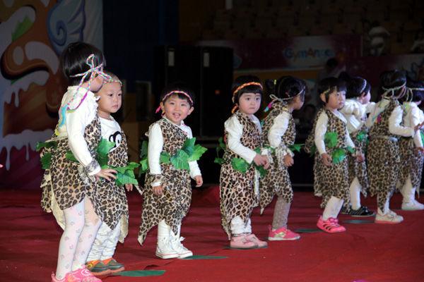 积木宝贝国际早教让宝宝体能,智能,心理能力平衡发展