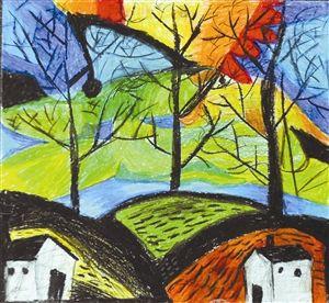 牵手国寿 梦想家园 少儿绘画大赛优秀作品赏 部分