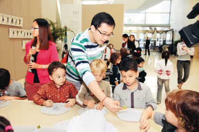 法国儿童创作走进北京