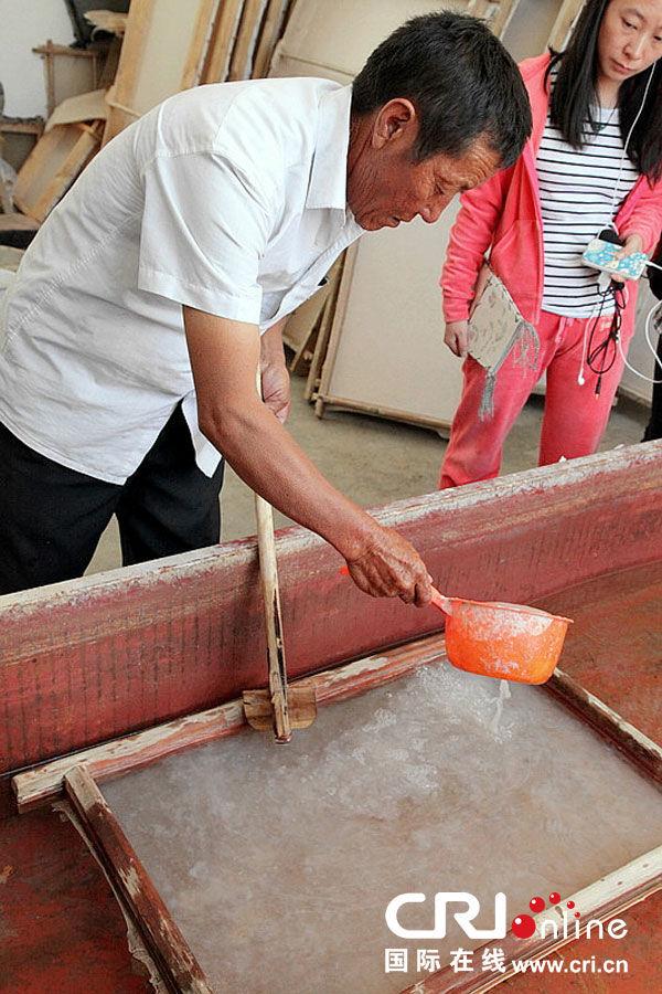 传统藏纸造纸术(高清组图)