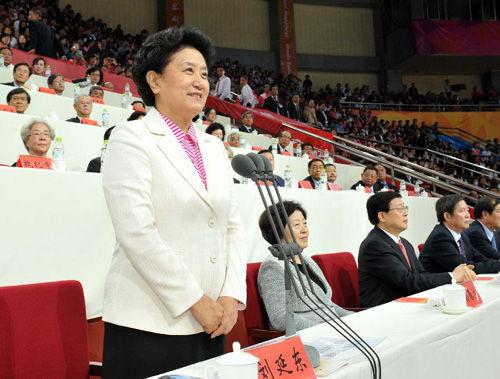 第六届东亚运动会在天津举行 刘延东宣布开幕