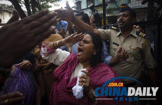 印度强奸案频发,引发民众抗议不断。(图片来源:路透社)