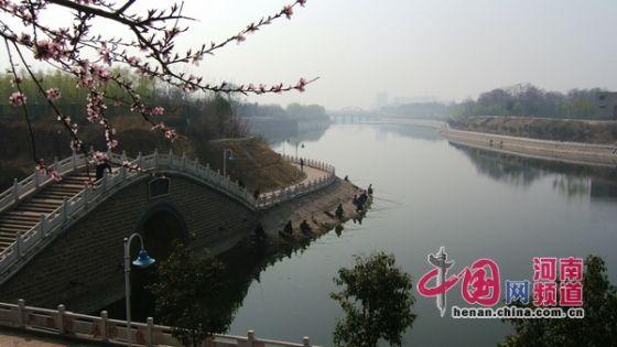 颍河水利风景区 中国网河南频道10月25日电