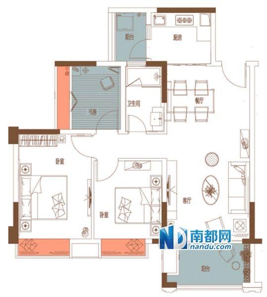 三房家庭电路图