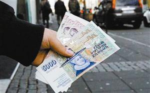 ▲冰岛克朗是冰岛的官方货币,其中5000克朗面值纸币正面的人物是拉格希尔·荣斯蒂尔,她曾是两位冰岛主教的妻子,还是一位著名的裁缝。