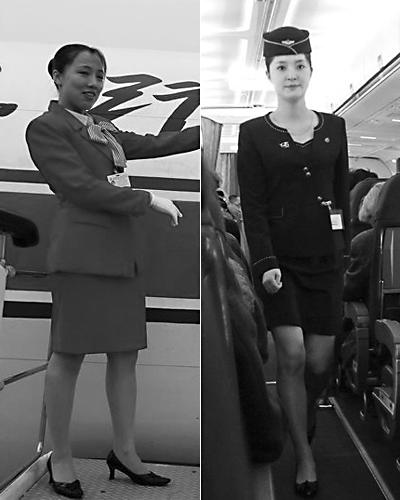 朝鲜空姐疑受金正恩指示换新装:裙子变短(图)