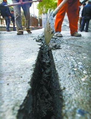 广州停车场路面开裂与深隧无关 工程未动工