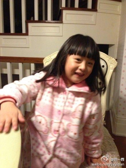 吴尊女儿好可爱啊
