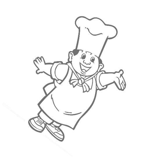 美食怎么画简笔画图片
