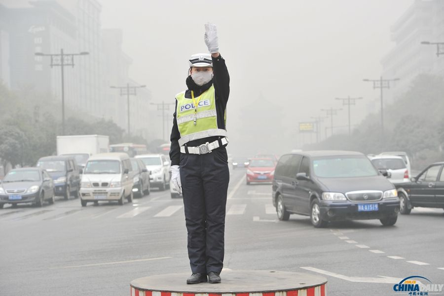 西安雾霾指数空气严重染