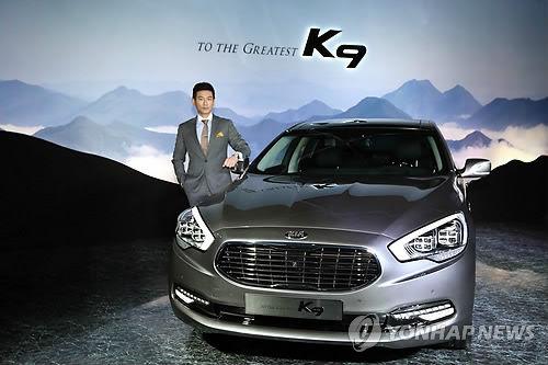 韩国起亚汽车新款K9问世 带来更细腻驾车体验高清图片