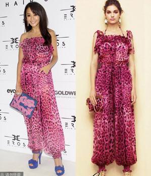 关颖:Dolce & Gabbana 2012夏装