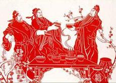 扬州剪纸首入国礼名录
