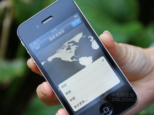 图为苹果iPhone 4S