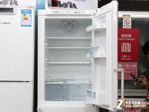 冰箱冷藏室空间展示