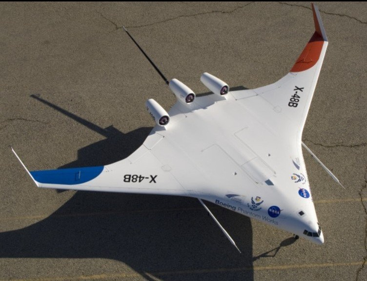X-48系列验证机或将成为未来客机的主流模式