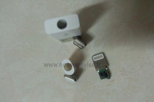 iphone 5小型dock连接线谍照泄漏