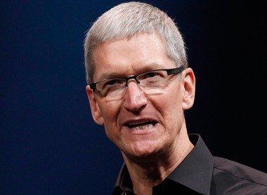 苹果首席执行官蒂姆·库克(腾讯科技配图)