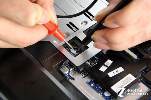 背光键盘的接口并未供电