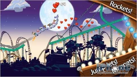 2d卡通画风游戏《动物过山车》评测